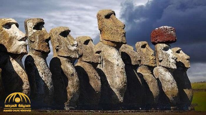 """""""نظرية جديدة"""" تكشف السر الغامض في بناء التماثيل الضخمة في تشيلي قبل ألف عام !"""