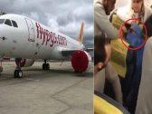 شاهد .. ردة فعل ركاب طائرة في اسطنبول بعد إعلان امرأة منتقبة أنها تحمل قنبلة !