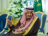 بالصور .. خادم الحرمين يستقبل مفتي المملكة وعدد من الأمراء والعلماء وجمعاً من المواطنين