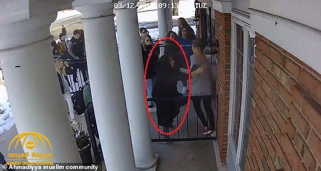 """بالفيديو … """" موقف بطولي """" لطالبة مسلمة ينقذ حياة نحو 100 من زملائها  في الولايات المتحدة !"""