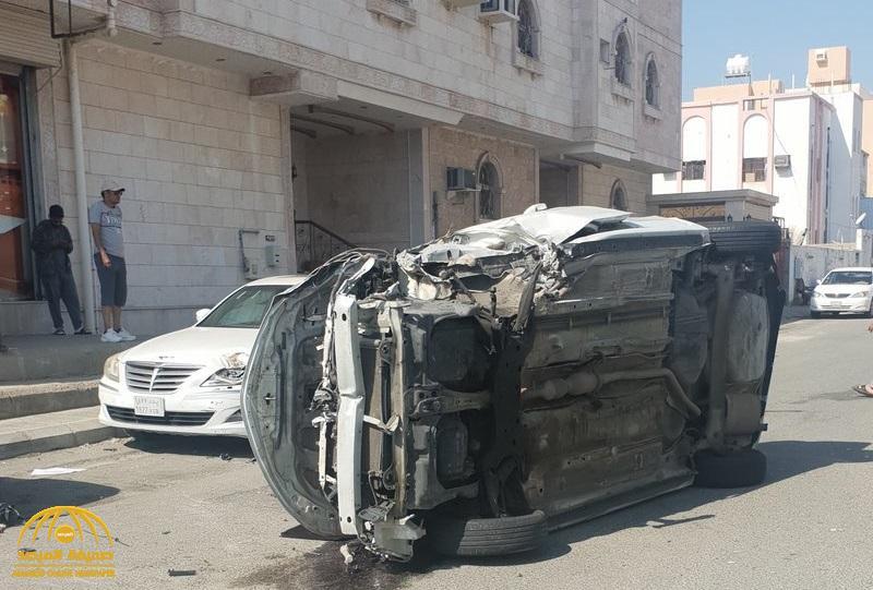 الإطار القاتل .. تفاصيل حادثة مروعة داخل مغسلة سيارات بمكة