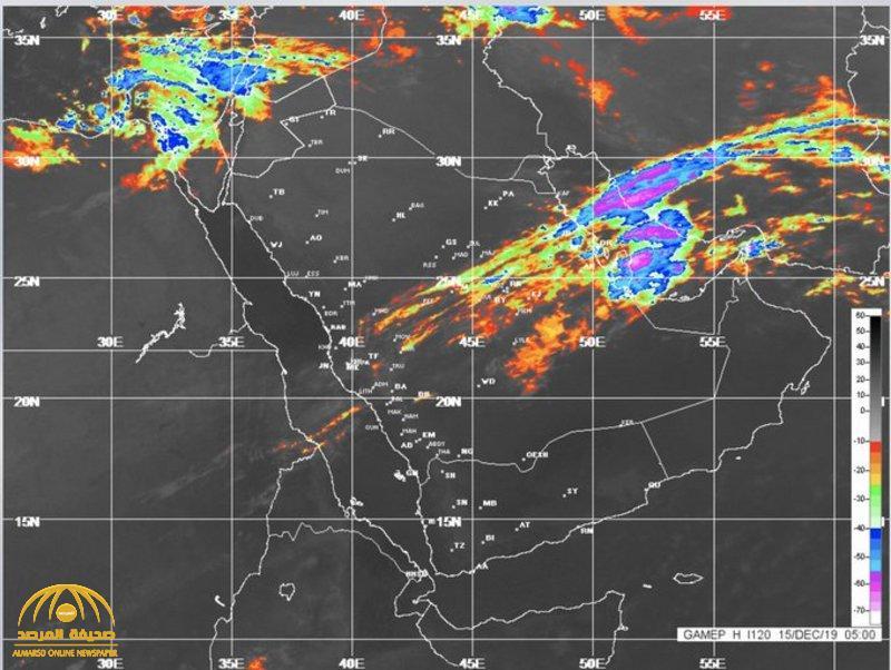 """""""الأرصاد"""" توضح تفاصيل التقلبات الجوية بصور الأقمار الصناعية .. وتتوقع استمرار الأمطار الرعدية وتساقط الثلوج"""
