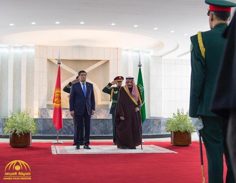 بالصور .. خادم الحرمين يستقبل رئيس قرغيزستان ويشهدان توقيع ست اتفاقيات ومذكرات تفاهم بين حكومتي البلدين