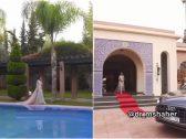 """شاهد : قصر الممثلة """"مريم حسين"""" الفخم في مدينة مراكش المغربية!"""