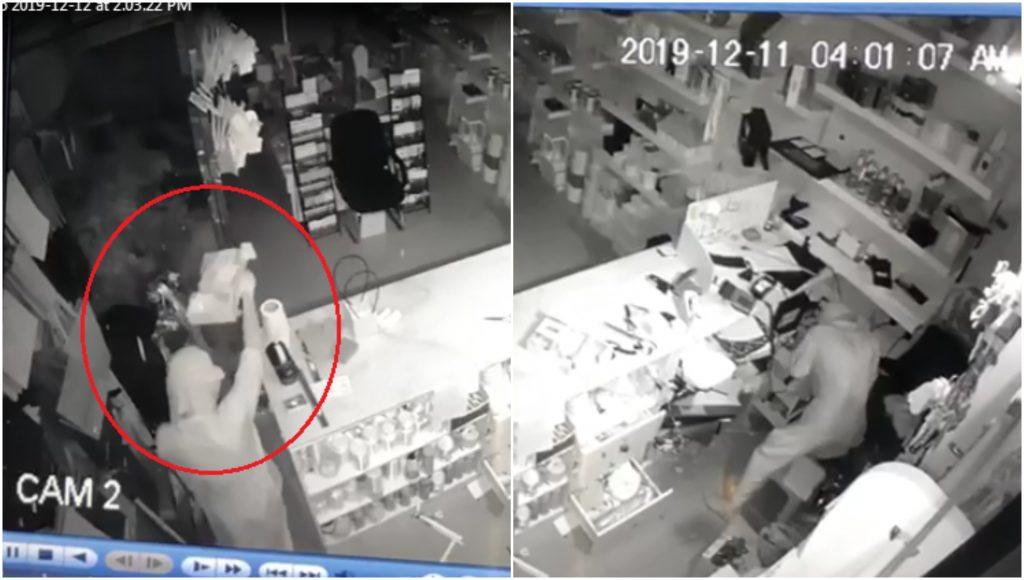 شاهد: سرقة عدد من المحلات التجارية في محافظة القويعية