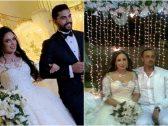 """بالصور: جدل على مواقع التواصل بسبب """"فستان"""" نجاح المساعيد.. هل عدلت على فستان زواجها القديم؟"""