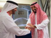 بالصور.. ولي العهد يغادر الإمارات