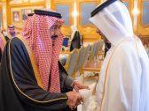 بالفيديو والصور.. الملك سلمان يستقبل رئيس الوزراء القطري