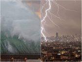 """بالفيديو والصور .. """"العاصفة لولو"""" تضرب لبنان والكشف عن عدد القتلى والمصابين"""