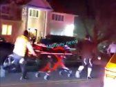 أثناء الاحتفال بعيد الأنوار.. مهاجم يطعن 5 أشخاص في منزل حاخام يهودي بنيويورك- فيديو