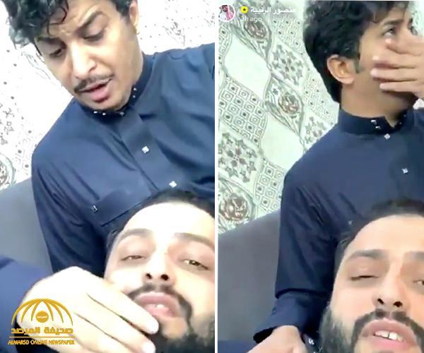 """شاهد.. مشهور سناب """"أبو بجاد"""" يؤيد صديقه """"منصور الرقيبة"""": المرأة مثل اللحمة إذا شفتها ما تقدر تقاوم!"""