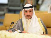 """الاعتداء على رئيس مجلس الأمة الكويتي """"مرزوق الغانم"""" داخل مقبرة بالكويت"""