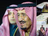 بالصور : خادم الحرمين  يصل الرياض قادما من سلطنة عمان بعد أن قدم واجب العزاء في وفاة قابوس