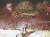شاهد : صورة نادرة للملك خالد والملك فهد .. والكشف عن مكان التقاطها