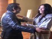 """إعلامية مصرية تضبط  الممثلة  """"غادة عبدالرازق"""" وفنان شهير بغرفة النوم !-فيديو"""