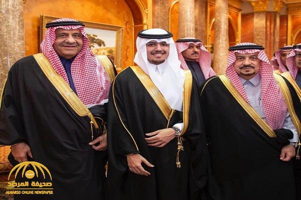 """شاهد: حفل زواج الأمير """"عبدالإله بن سلطان"""" بحضور عدد من  الأمراء البارزين"""