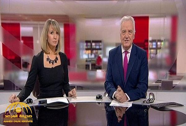 """شاهد: مذيعة الـ """"بي بي سي"""" تتعرض لموقف محرج بعد تمزق فستانها .. وردة فعل غير متوقعة من طاقم الاستديو"""