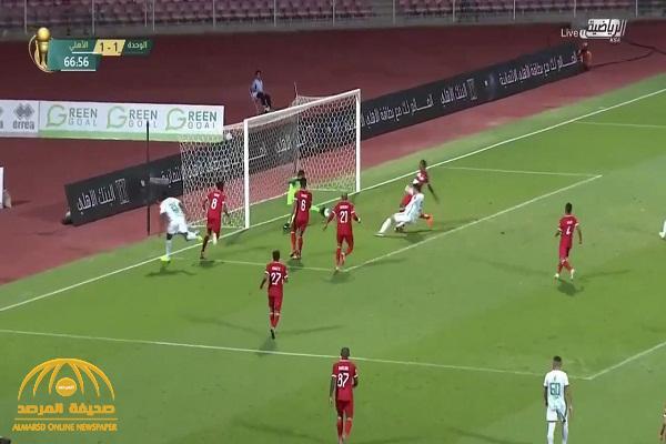 بالفيديو .. الأهلي يحقق فوزا صعباً على الوحدة  ويتأهل لنصف نهائي كأس الملك
