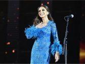 """بالفيديو :مفاجأة غير متوقعة من جمهور الفنانة المصرية أنغام أثناء تحضيرها  لحفلها ضمن """" ليالي القصيم """" ببريدة !"""