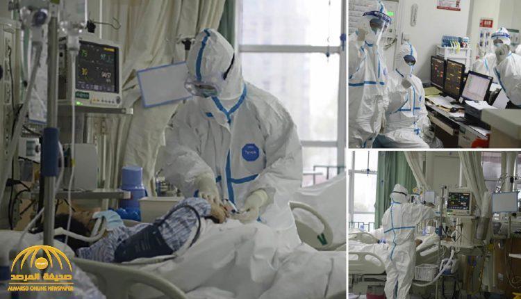 شاهد: فيديو وصور مثيرة من داخل العناية المركزة يكشف طريقة تعامل الأطباء مع مرضى كورونا