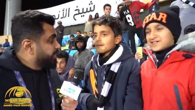 شاهد .. مشجع شبابي : المفروض نفوز على الهلال بـ 15 هدف !