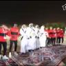 شاهد … لاعبو أتلتيكو مدريد الأسباني يؤدون العرضة  في الرياض قبل انطلاق كأس القادة السعودي !
