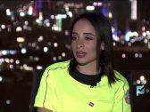 """بالفيديو : """" شام الغامدي """" أول امرأة حكم كرة قدم في المملكة تخرج الكروت على الهواء لهولاء … وتكشف عن رأيها في الخبير محمد فودة !"""
