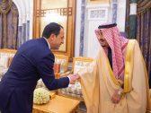 بالصور : خادم الحرمين يستقبل وزير خارجية جمهورية قبرص