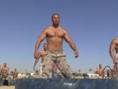 شاهد.. كيف يتدرب عناصر الشرطة المصرية قبل تخرجهم !
