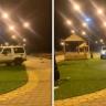 شاهد.. شاب يتعمد تخريب حديقة عامة باستخدام سيارته بجازان!