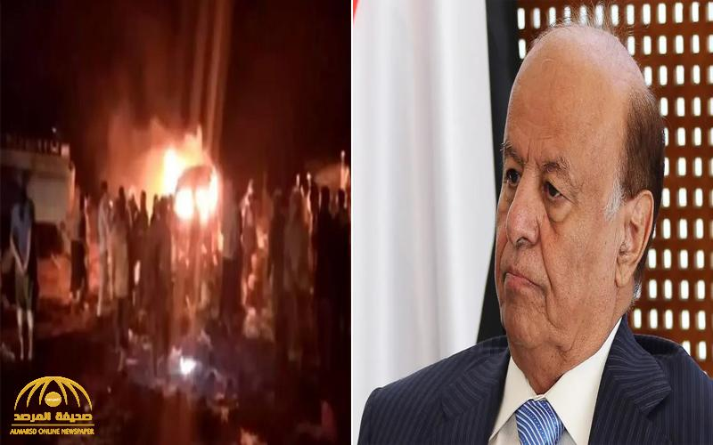 أكثر من 70 قتيلا في هجوم حوثي بصواريخ إيرانية على معسكر للجيش اليمني .. والرئيس هادي يعلق