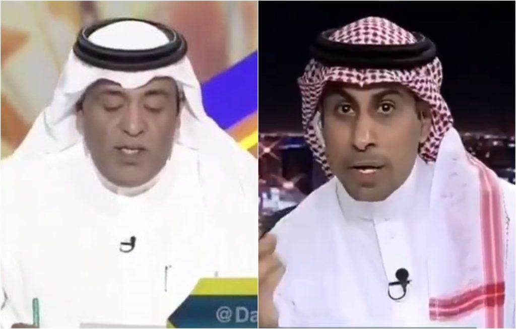 """""""التطبيل واشتراك وليد الفراج"""".. العنزي يثير الجدل بسبب النصر! – فيديو"""