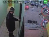 شاهد : طفلة تهرب من رجل لاحقها حتى منزلها بخدعة ماكرة!