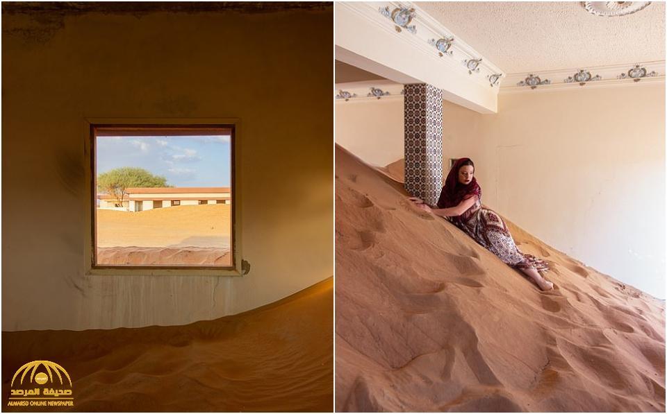 شاهد: قرية كاملة مهجورة تغمرها الرمال تبعد فقط بضعة أميال عن إمارة دبي الصاخبة – فيديو