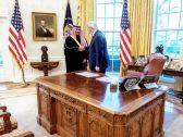 شاهد بالصور.. الأمير خالد بن سلمان يلتقي الرئيس ترامب حاملاً رسالة من ولي العهد