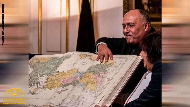 بالفيديو.. وزير خارجية مصر يرد على وزير دفاع تركيا بشأن عدم وجود حدود لمصر مع ليبيا!