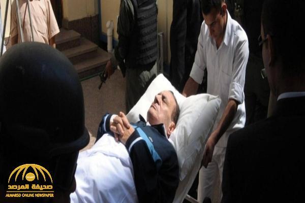 نقل الرئيس المصري الأسبق حسني مبارك إلى المستشفى
