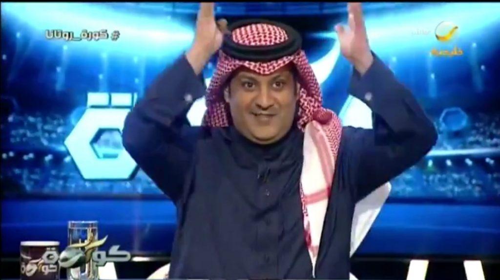 """بالفيديو: المذيع """"العجمة"""" يسخر من تغريدات بعض الإعلاميين الرياضيين.. ويستشهد بمقولة للفنان أحمد زكي"""