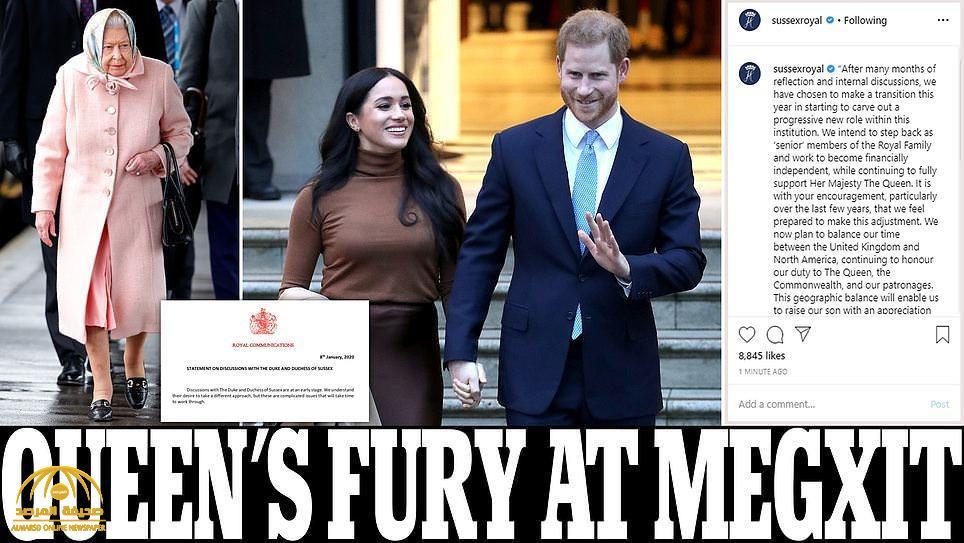 """الأمير هاري وزوجته يغضبان الملكة """"إليزابيث"""" بعد اتخاذهما هذا القرار  الغريب دون علمها!"""