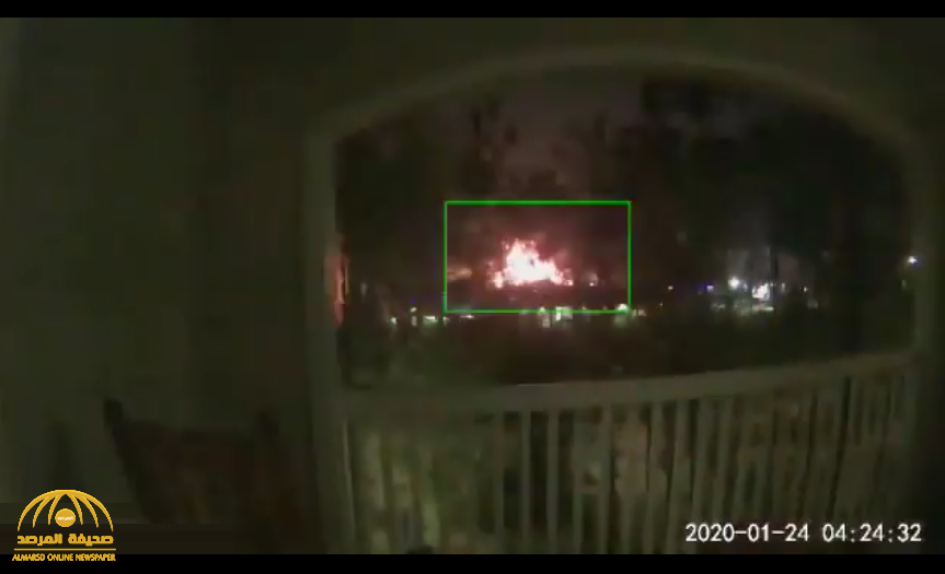 شاهد: انفجار ضخم يهز ولاية تكساس الأمريكية