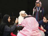 """لأول مرة …شاهد:  سيدات ينافسن الرجال في بطولة شتاء الرياض لـ """"البلوت"""""""