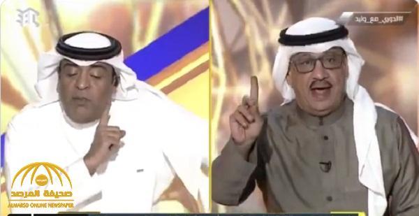 شاهد .. جمال عارف يرد بغضب على وليد الفراج : أنا لا أتعلم أو أتلقى رسائل من أحد!