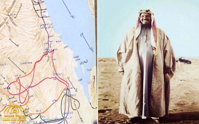 """سر تردد اسم """"الجافورة """" كثيراً على لسان الملك عبدالعزيز .. وهذا ما قاله لرفاقه الـ63 بعد تلقيه رسالة من والده وابن صباح بالكويت قبل 123 عاماً !"""