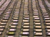 """شاهد : صور توثق حال ووهان الصينية """"بؤرة كورونا"""" .. هكذا تحولت لمدينة أشباح"""