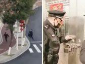 """""""جنون كورونا"""" يجتاح الصين .. شاهد : الشرطة تحبس الأسر في المنازل وتطارد المصابين في الشوارع !"""