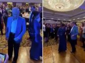 """بعد القمة الإسلامية المشبوهة .. شاهد : رئيس وزراء ماليزيا """"مهاتير محمد"""" يرقص مع النساء !"""