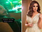 شاهد .. كويتية تحرج زوج أنغام خلال حضوره حفل زوجته في الكويت بهذا السؤال !