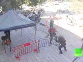 شاهد .. لحظة إطلاق النار على جنود إسرائيليين في القدس