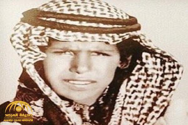 شاهد .. صورة نادرة لأكبر أبناء الملك عبدالعزيز