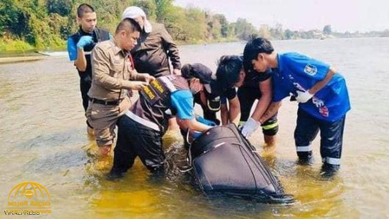 صياد يعثر على حقيبة سوداء تطفو على الماء .. وعندما فتحتها الشرطة كانت المفاجأة !